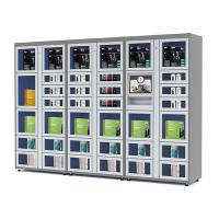 Quality 24 Hours Electronic Touch Screen Vending Lockers with Coin / Banknote / Card Payment for sale