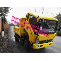 Buy cheap YN33PE-2 Engine 5 Ton Light Duty Trucks , Light Commercial Trucks 2 Persons Seating from wholesalers