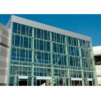 Buy cheap Wind Pressure Aluminium Alloy Curtain Wall With Low-E Glaess For Large Building from wholesalers