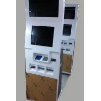 Buy cheap 19 Information Floor Standing Digital Signage Freestanding / Bill Payment Service from wholesalers