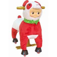 Buy cheap Personalized Red Plush Stuffed Toys Animals Sheep , Cool Baby Stuffed Toy from wholesalers
