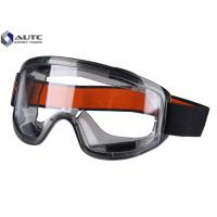 Buy cheap Clear Lab Safety Goggles Full Protection Spectacles Large Transparent View Window from wholesalers