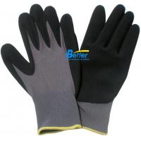 Buy cheap 15 Guage 100% Colourful Nylon Shell & Nitrile Sandy Coated Work Gloves-BGNC501 from wholesalers
