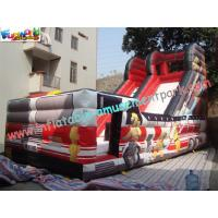 Buy cheap Outdoor Large 0.55mm PVC tarpaulin Inflatable Commercial Inflatable Slide for Kids Playing product