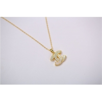 Buy cheap Pendent Long Chain Hip Hop Plated Jewelry Pendant Necklace 18K Gold Plated for Silver + Zircon from wholesalers