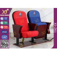 Buy cheap Fire Retardant Vintage Wooden Theatre Seating Chairs For Church Project from wholesalers