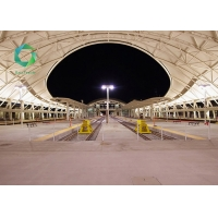 Buy cheap Flame retardant Acrylic PVC Membrane Structure anti mold Fabric Tensioned 1500gsm from wholesalers