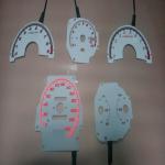 Buy cheap high bright custom glow gauge\el gauge\car dashboard from wholesalers