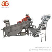 Buy cheap Trade Assurance Automatic Nut Shell Removing Almond Cracker Huller Hazelnut Shelling Machine Price from wholesalers