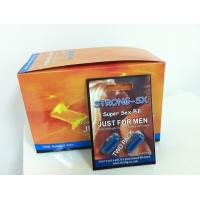 Buy cheap Strong Sx Male Enhancement Men Sex Capsule 100% Pure Natural Extraction GMP & FDA from wholesalers
