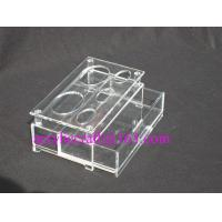 Buy cheap Plexiglass Counter Display Holders, Acrylic Bathroom Organizer For Hotel Supplies from wholesalers