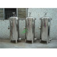 Buy cheap SS Single Multi Bag Filter Housing with Bead Blasting or Mirror Surface CE Certified from wholesalers