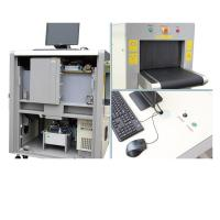 Buy cheap Detection Image Hotel / Station Portable Baggage X Ray Machine With 8 Mm Penetration 24-bit True Color Display from wholesalers
