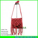 Buy cheap LDMX-006 2016 fashion fasten tassel straw sling bag for kids from wholesalers