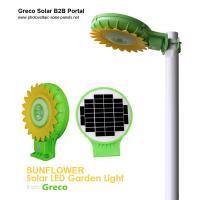 Buy cheap Solar LED Garden Lights with Light Sense | Sunflowers Style from wholesalers