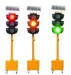 Buy cheap High luminance solar LED mobile traffic light from wholesalers