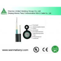 Buy cheap Moisture-proof GYXTC8S OM1 18 Cores Steel Wire Self-support Fiber Optic cable from wholesalers