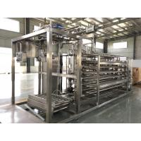 Buy cheap Low Noise Mango Pulp Aseptic Juice Filling Machine 20L / 220L With PLC Control product