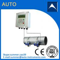 Buy cheap Output 4-20mA Non-invasive Water Ultrasonic Flow Meter/Insertion Water Flowmeter from wholesalers