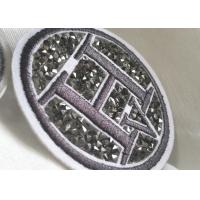 Buy cheap Creative 3D Rubber Logo Patches , Washable Fabric PVC Clothing Labels from wholesalers