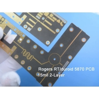 Buy cheap Rogers RT/Duroid 5870 15mil 0.381mm High Frequency PCB with green solder mask for Microstrip and Stripline Circuits from wholesalers