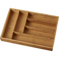 Buy cheap Hard Bamboo Silverware Drawer Organizer High Temperature Of Than 200 Degree from wholesalers