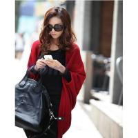 Buy cheap women fashion cashmere blends poncho knitted cardigan winter outerwear sweater shawl cape from wholesalers