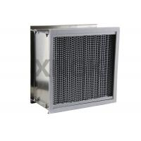 Buy cheap Deep Pleated High Temperature Hepa Filters Washable Bear 200 - 350 ℃ from wholesalers