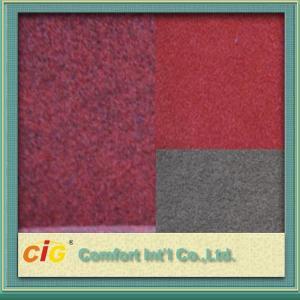 Buy cheap Hotel Decoration Colorful Punch Carpet Fabrics / Soft Washable Car Carpet Fabrics product