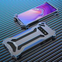 Buy cheap Oxidized Metal Case For Samsung Galaxy S9 S10 S10+ Plus Heat Dissipation Shockproof Back Cover Aluminum Aircraft Alloy from wholesalers