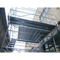 Buy cheap hot galvanized Q345 steel ring lock scaffolding system for bridge, tunnel, building construction, stadium from wholesalers