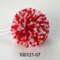 Buy cheap Handmade Crochet Christmas Ornament Ball Mixed Red White from wholesalers