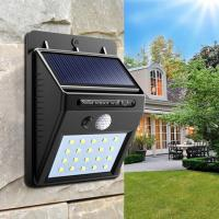 China 100lm Wall Mounted Solar Lamp , Solar Garden Security Lights 2700-6500K CCT on sale