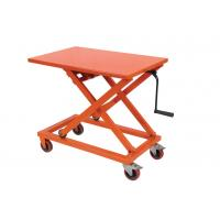 Portable Mechanical Lift Table Hydraulic Material Handling Equipment For Supermarket 107312541