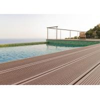 Buy cheap 146 * 24mm Pest Resistant Non-Crack Anti-UV WPC Flooring Easy To Clean from wholesalers