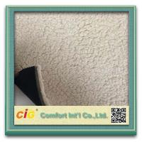 Buy cheap Elegant  Printed Sherpa Fleece Faux Fur Fabric  For Car Seat Upholstery , Home Textile product