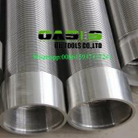 316L stainless steel wire wrapped water well screens for water well drilling
