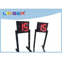 Buy cheap Customized LED Digital Clock / Shot Clock Timer With 1m Height Stand from wholesalers