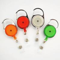 Buy cheap retractable badge holder pull reel from wholesalers
