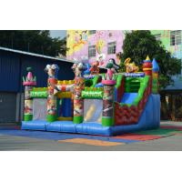 Buy cheap Outdoor Kungfu Panda Bouncy Castle Obstacle Course Inflatable Sport Games For Kindergarden from wholesalers