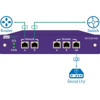 Buy cheap Ethernet Network Tap Inline Monitoring With Intelligent Bypass For Network Security from wholesalers