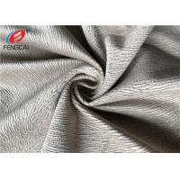 Buy cheap Burnout Velboa Sofa Velvet Upholstery Fabric For Home Textiel , 190GSM Weight from wholesalers