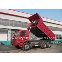 Buy cheap 10 wheels HOWO 6X4 Mining Dumper / dump Truck  for heavy duty transportation with warranty from wholesalers