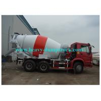 Buy cheap 226HP to 380hp  HOWO Concrete Cement Mixer Truck 4X2 or 6x4  with 5m3 to12m3 capacity from wholesalers