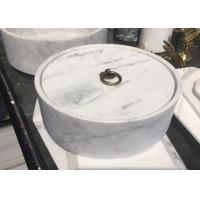 Buy cheap Safe Nontoxic Marble Dinnerware Set , Natural Marble Stone For Tableware product