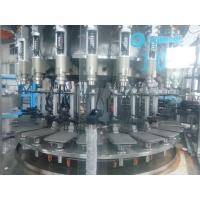 Buy cheap PET Bottle Rotary Pulp Juice Soda Bottling Equipment , Carbonated Drink Filling Line from wholesalers