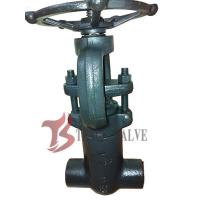 Buy cheap High Pressure Forged Steel Valves Solid Wedge Full Bore A105N SW / NPT from wholesalers