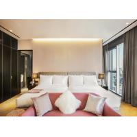 Buy cheap Luxury Hotel Guest Plywood / Solid Wood  Bed Room Sets Furniture from wholesalers