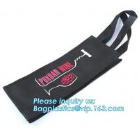 Buy cheap Custom logo nonwoven bag, non woven bag printing, woven bag for wine, Colorful high quality gloss laminated custom non w from wholesalers