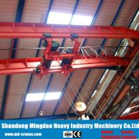 Buy cheap 2018 Hot Sale CE ISO Certificated 40ton LH Double Girder Overhead Crane Installed with Electric Hoist from wholesalers